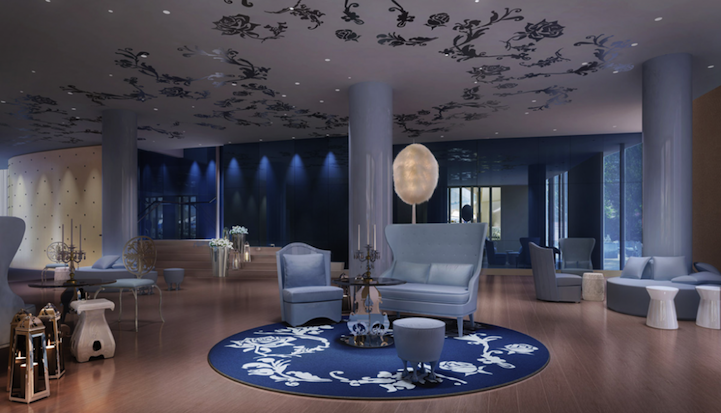 Mondrian Soho Beauty And The Beast Inspired Ny Hotel