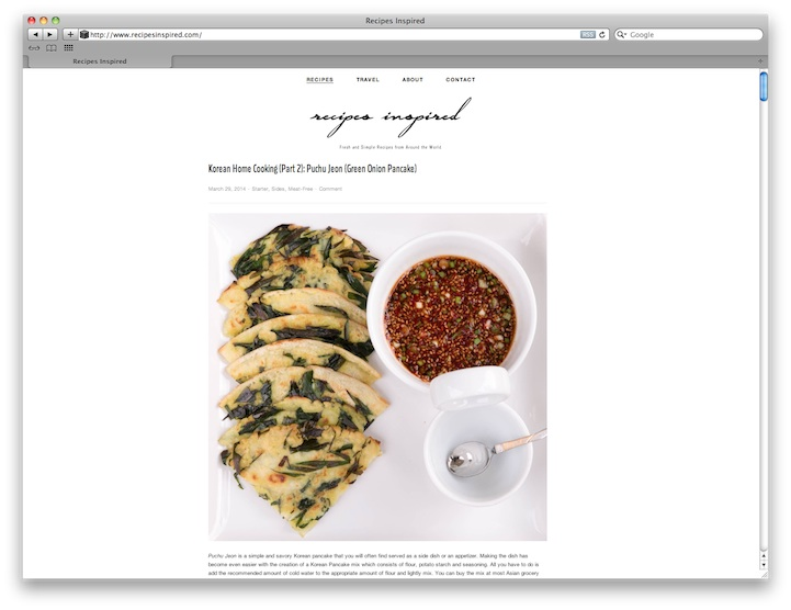 How to create your own food blog using squarespace for Best squarespace template for blog