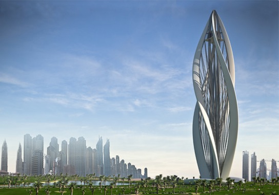 Designed To Resemble A Blossoming Flower, Greek Architecture Firm Petra  Architects Recently Submitted U201cBlossoming Dubaiu201d To The Zaabeel Park Tall  Emblem ...
