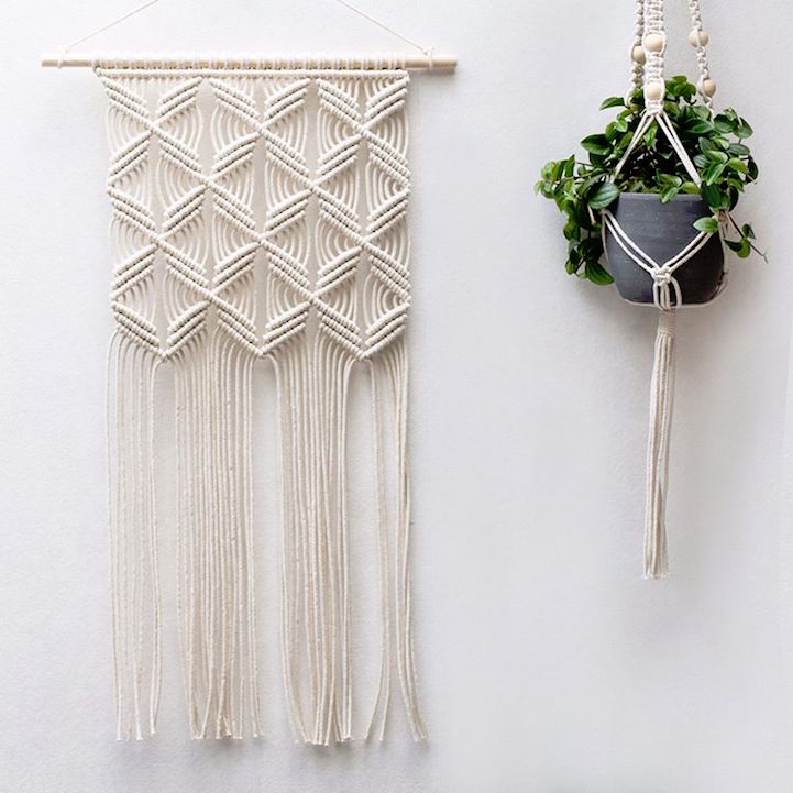 Gorgeous Geometric Wall Hangings