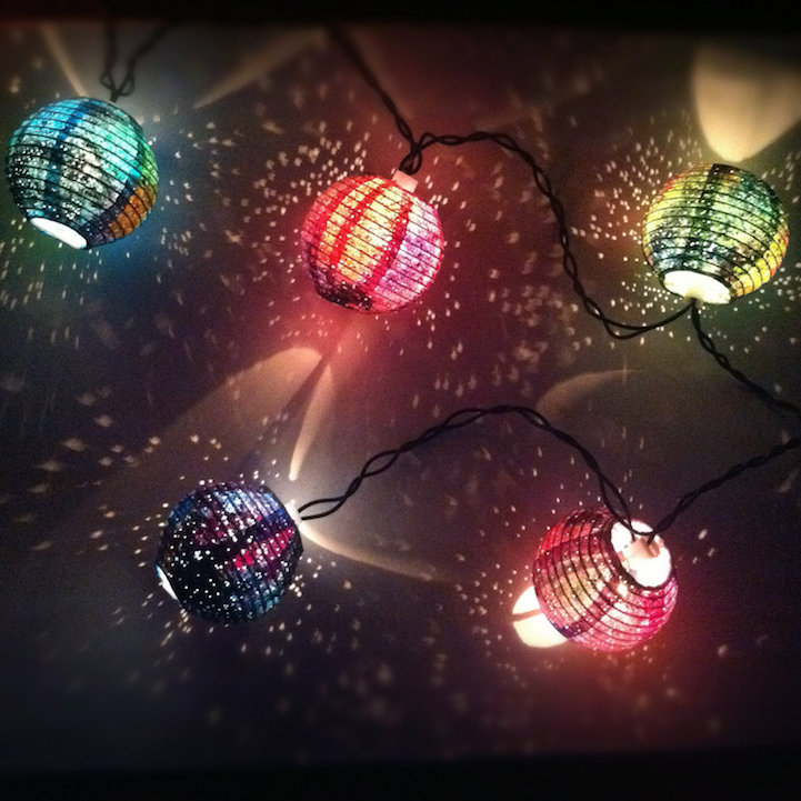 Galaxy Paper Lanterns Illuminate Your Home with the