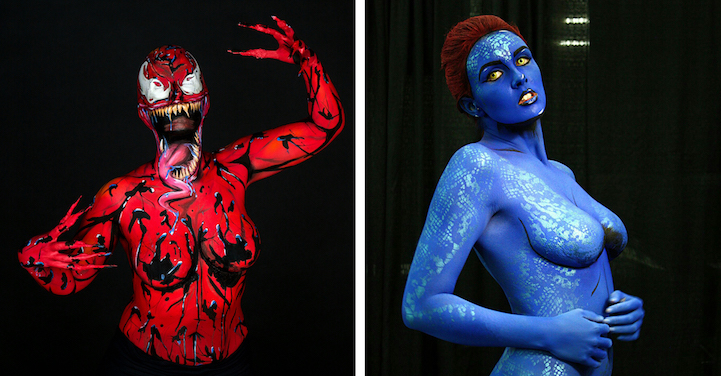 Body Painting Classes Dc
