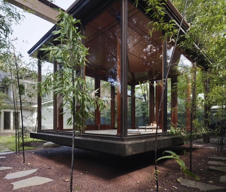 Floating Japanese Tea House
