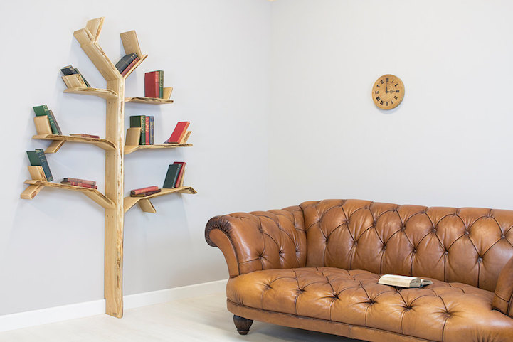 Miraculous Modern Tree Shelves Playfully Designed To Hold Books On Download Free Architecture Designs Scobabritishbridgeorg
