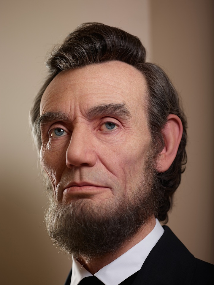 shockingly realistic sculpture portrays abraham lincoln my modern met