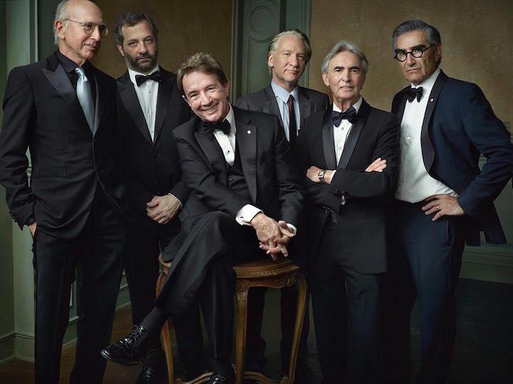 Striking Celebrity Portraits Taken at Vanity Fair&apos