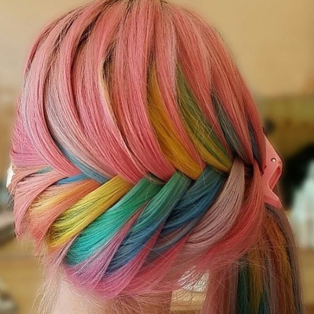 Quot Sand Art Hair Quot Is The Latest Hair Trend Young Women Have