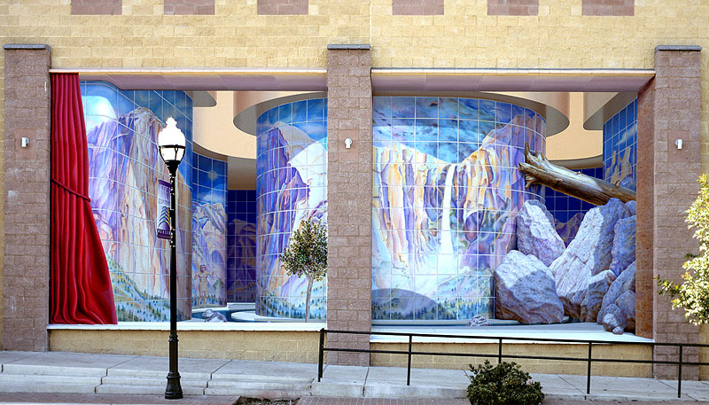 Huge 3D Wall Murals Are Off The