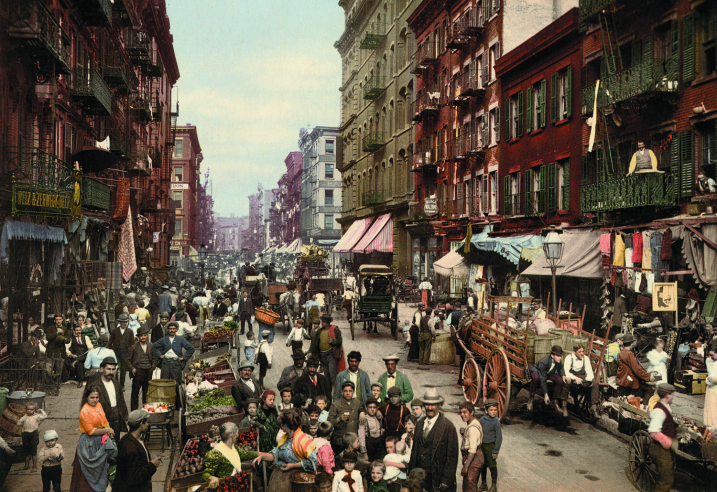 The Very First Color Photographs Of United States