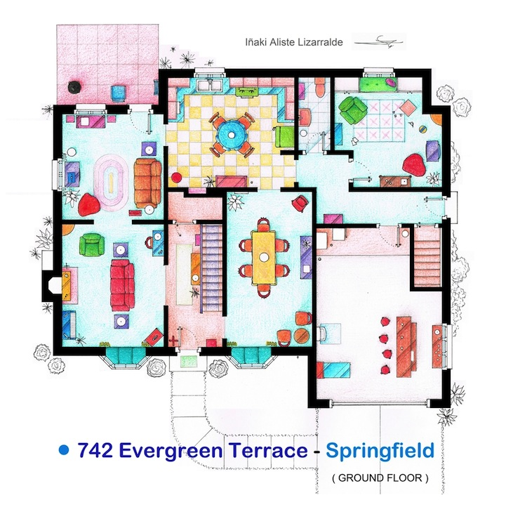 Apartment Building Floor Plans Designs detailed floor plan drawings of popular tv and film homes