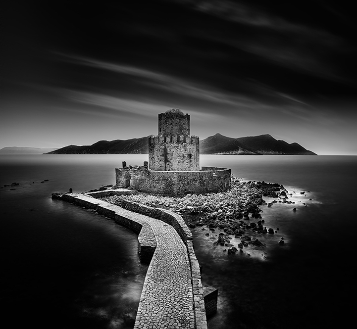 Expressive Black and White Long-Exposure Landscapes
