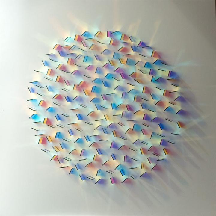 Geometric Arrangements Of Colorful Glass Reflect Gorgeous