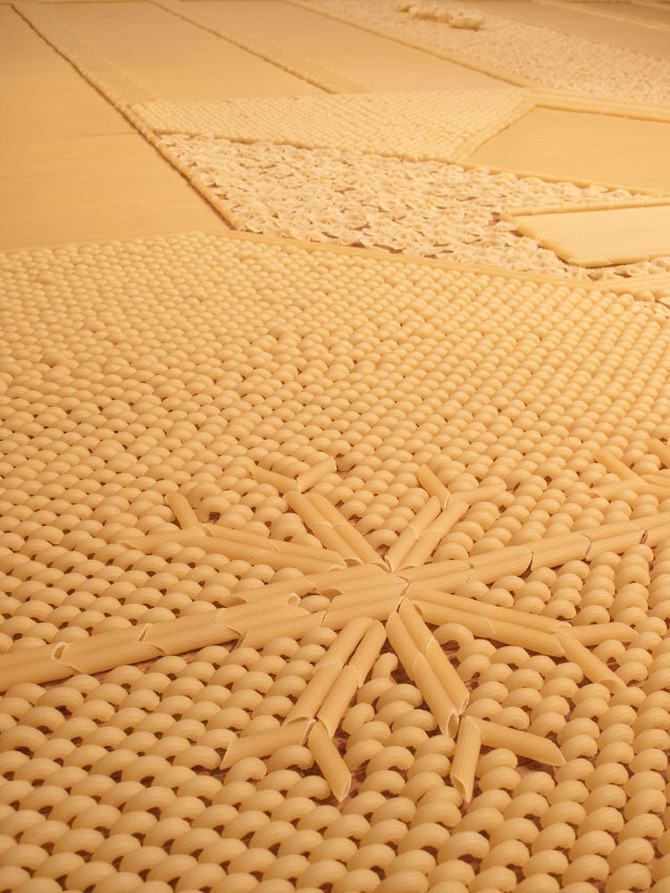 Elaborate Carpets Made Of Unconventional Materials