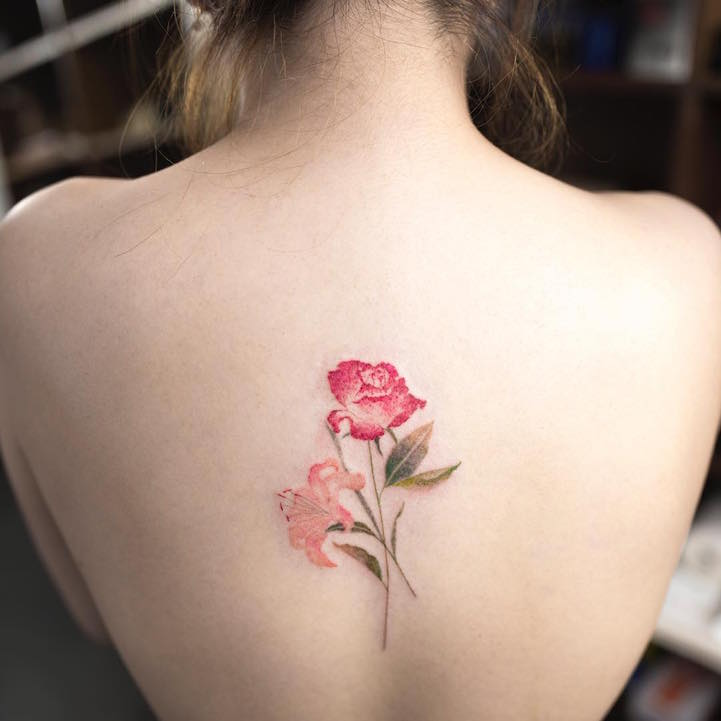9be2cdca3 Ethereal Nature Tattoos Transform Skin Into Delicate Watercolor Paintings