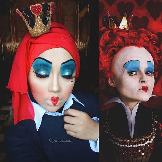 Make Up Halloween Simple Hijab.Makeup Artist Uses Hijab To Creatively Transform Herself