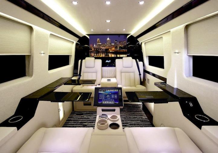 Ordinary Van S Shocking Luxury Interior