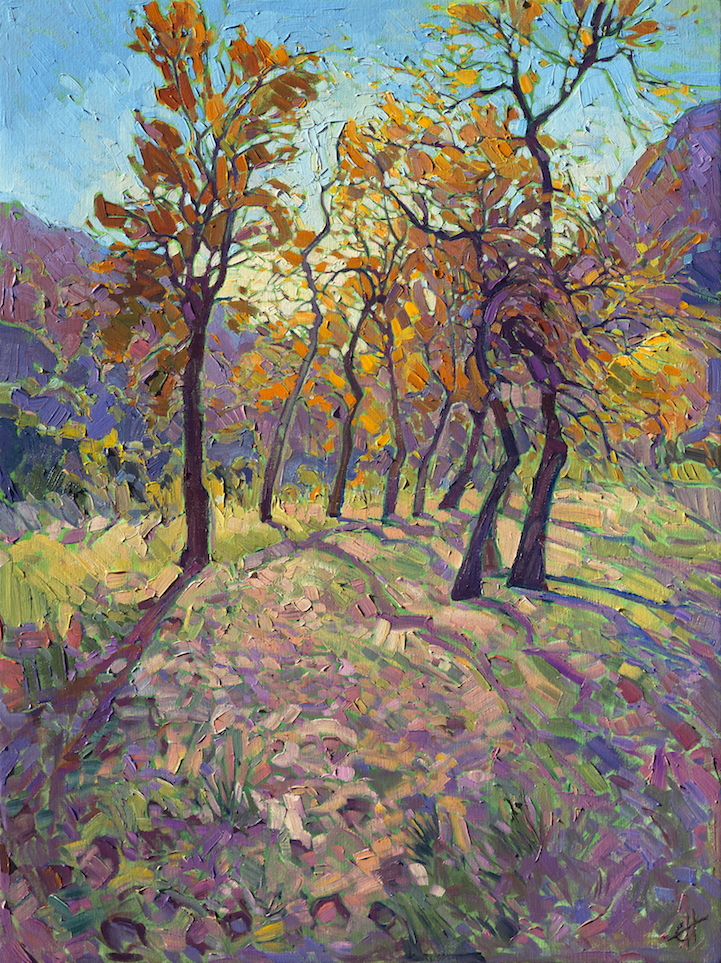 energetic landscape paintings portray artist erin hanson u0026 39 s love for national parks