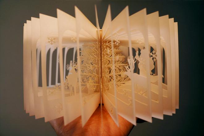 Книгу панораму своими руками