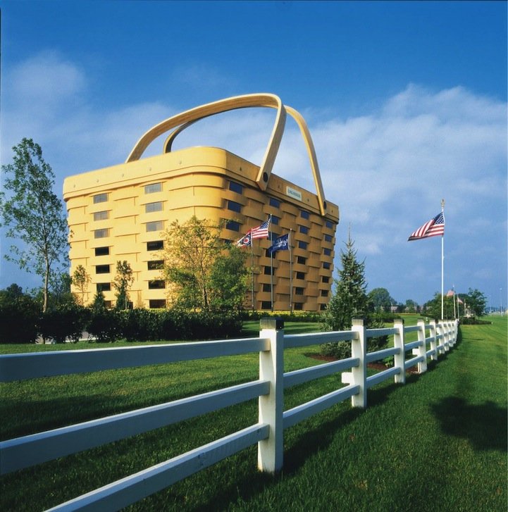 Longaberger home office Net Worth Artstack Gigantic Picnic Basket Office Building