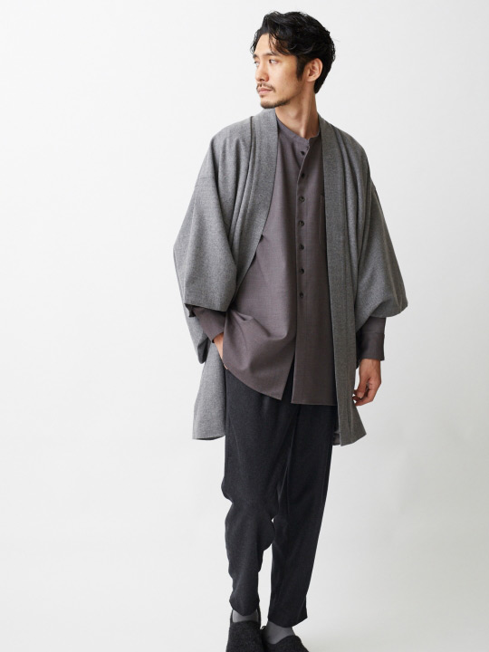 Contemporary Samurai Jacket To Complete The Outfit