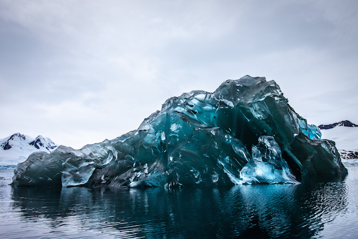 Flipped iceberg, by Alex Cornell