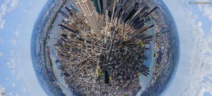 12 Incredible 360 Aerial Panoramas Of Cities Around The World