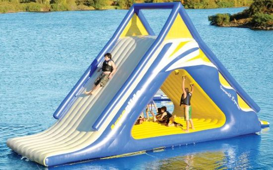 two water slides that completely rock my world