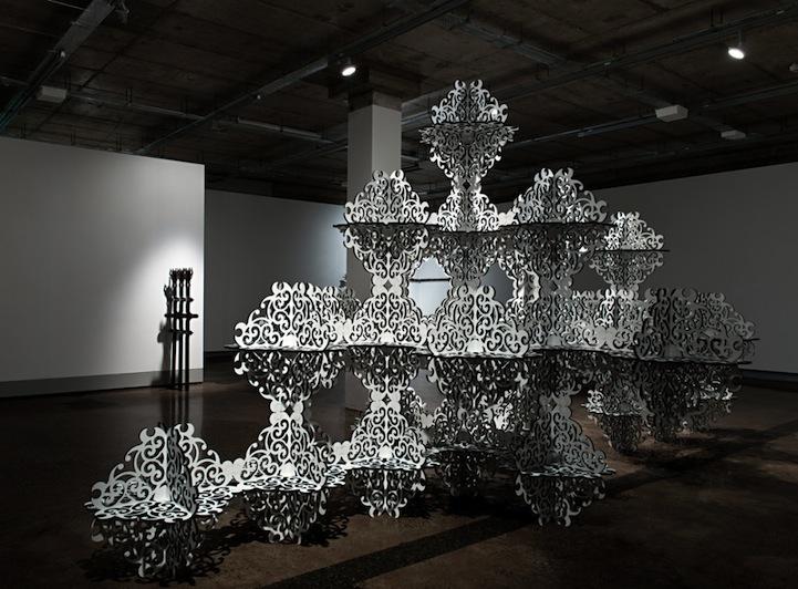 Beautifully Ornate Installations by Simeon Nelson