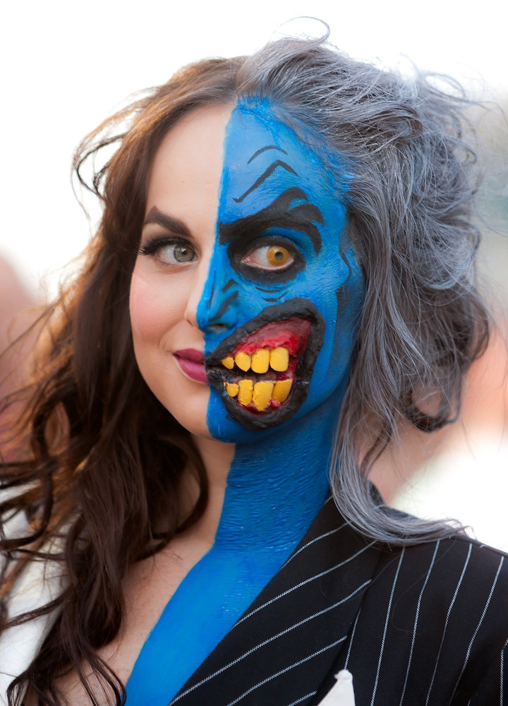 Lady Two Face Makeup is the Best Costumes at San Diego Comic-Con
