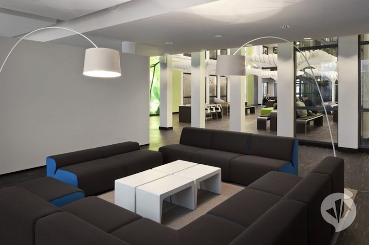 Mtv S Ultra Modern Headquarters In Berlin 10 Pics