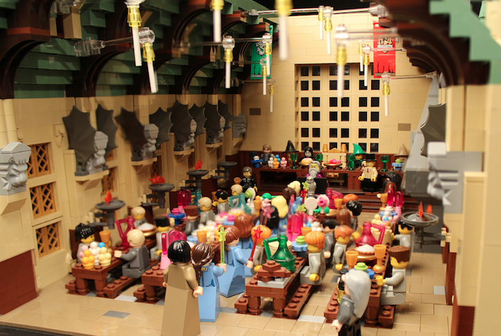 Dedicated Mom Builds Amazingly Detailed Model Of Hogwarts With