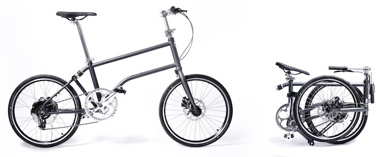 Modern Folding Bike That Is Electric Power Boosted