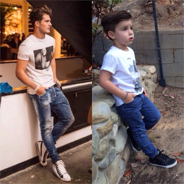 6ae985dd8 Adorable 4-Year-Old Boy Mimics Male Fashion Models