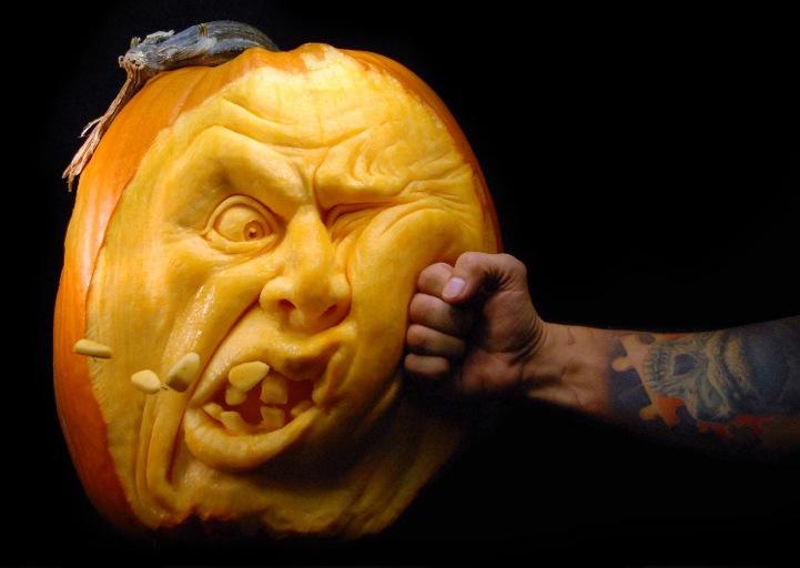 most expressive pumpkin faces ever rh mymodernmet com unique pumpkin faces unique pumpkin faces