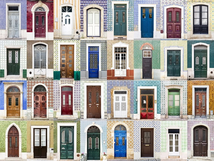 Photographer Captures Charming Diversity Of Colorful Front Doors