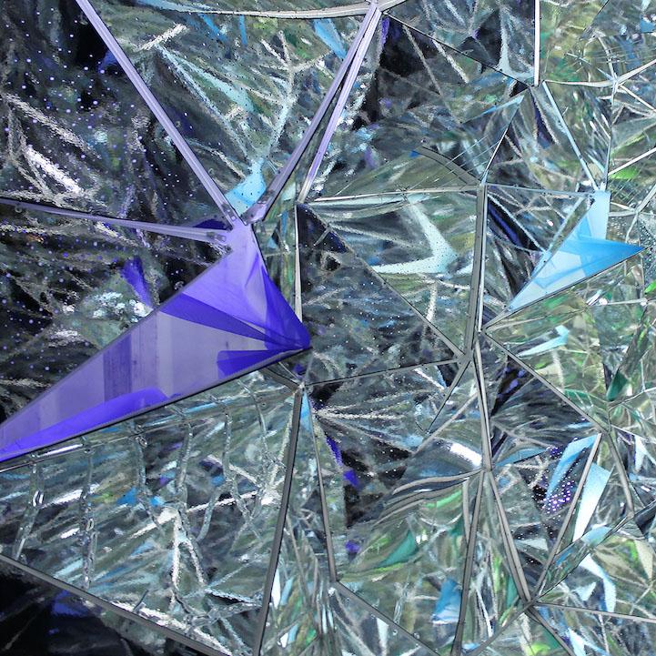 Immersive Kaleidoscope Tunnel Built Inside A Shipping