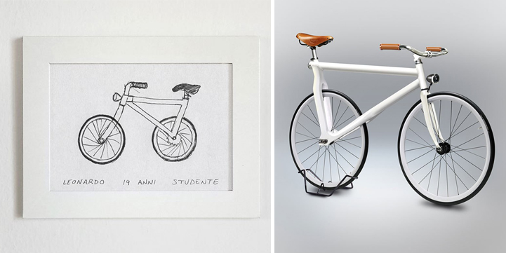 people draw bicycles from memory and designer turns them into 3d