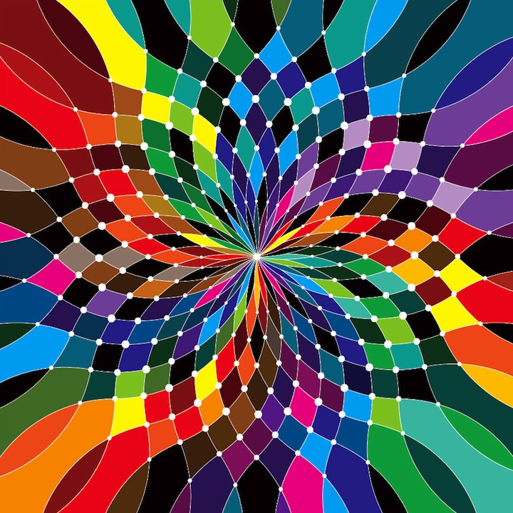 rainbow graphic colors matt moore wheel patterns graphics colour funk bright signature swirling cool vector pattern colourful colours psychedelic wheels