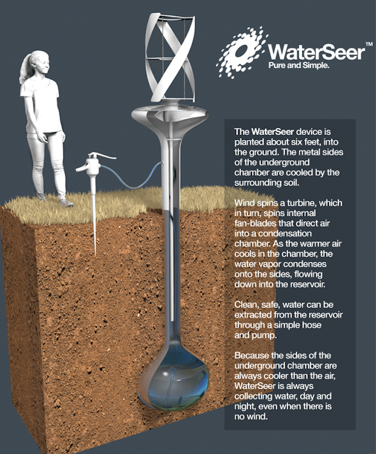 WaterSeer Designed To Improve Drinking Water For Communities In Need