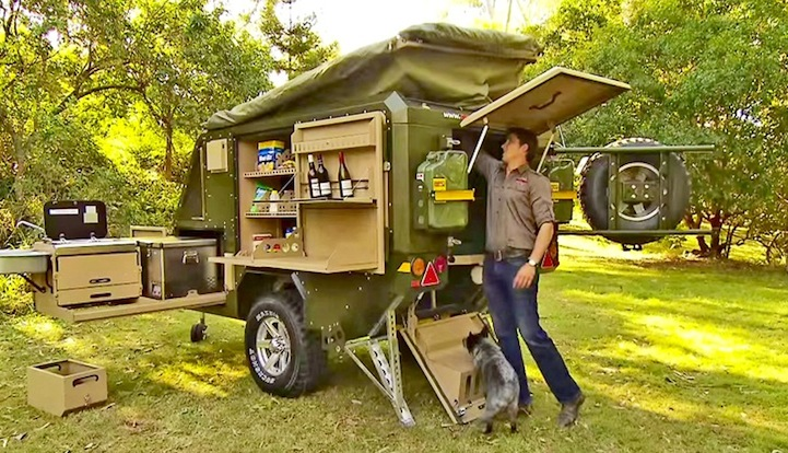 Luxury Off Road Camper Trailer Is The Ultimate Urban Escape Vehicle