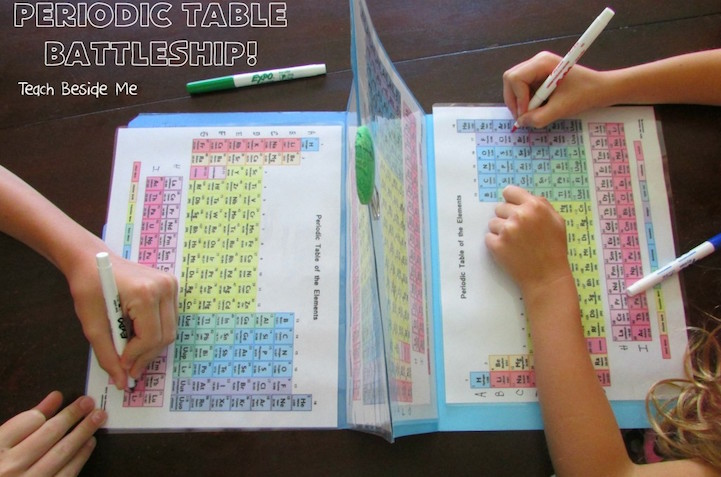 Mom puts an educational twist on battleship to help kids learn the mom puts an educational twist on battleship to help kids learn the periodic table urtaz Image collections