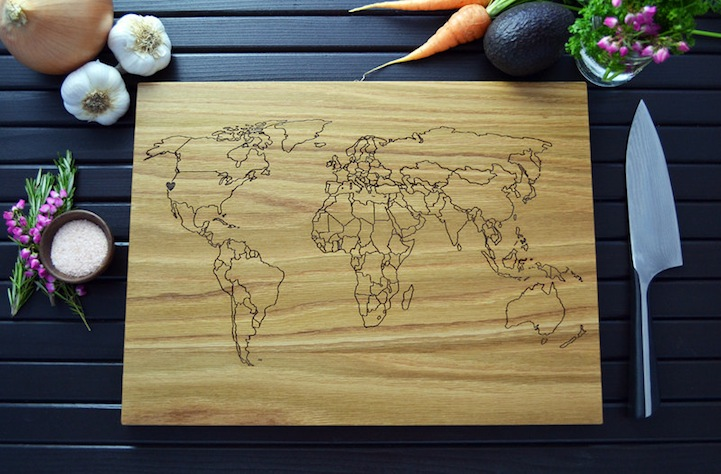 Cleverly designed cutting boards feature custom engravings elysium woodworks on etsy via wacky thoughts urtaz Image collections