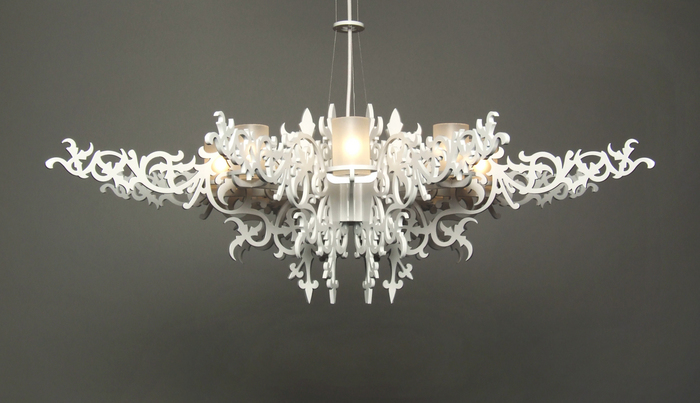 #2 Tord Boontje Blossom Chandelier  $37,500. God help me if I had the  dinero  this baby would be sitting pretty high up in my living room.