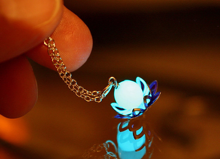 Mystical Glow In The Dark Jewelry Emits An Ethereal