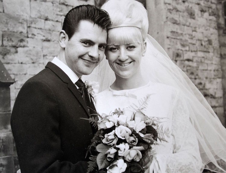 Happy Couple Married In 1966