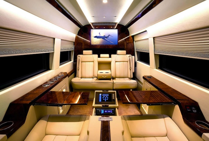 It May Surprise You To Know What Type Of Vehicle This Luxurious Interior Belongs Its Not A Jet Or Limo But Rather Mercedes Benz Van
