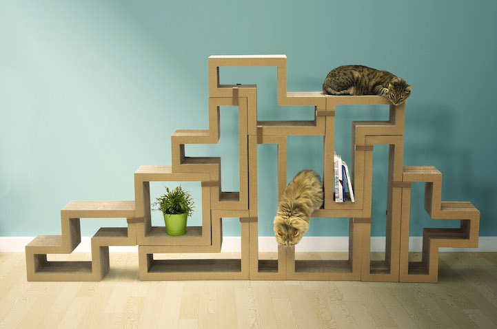 Fun Tetris Like Furniture Pieces Let You Build Your Own