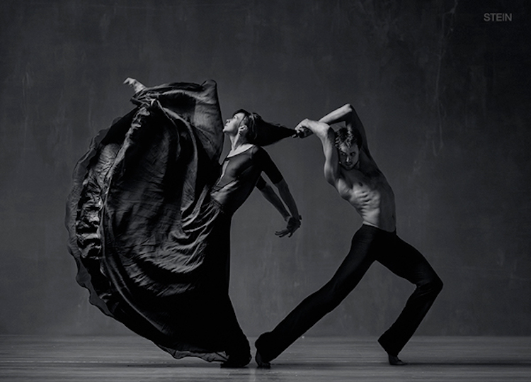 Dynamic Dancers Passionately Interact