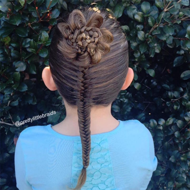 mom spends only 20 minutes designing daughters incredibly