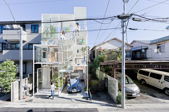 Image result for The transparent house, Tokyo